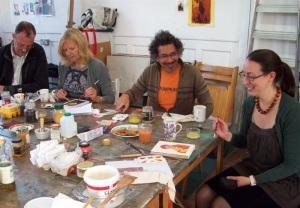 Egg Workshop in Kew Studio