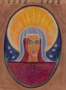 Icon design sample for an alternative religion