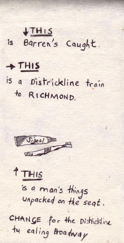 THIS - a biro sketch by Sarah Dixon