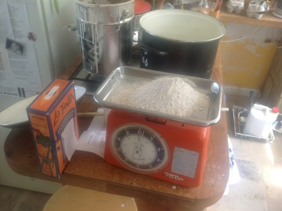 200g rye flour for swedish paint recipe
