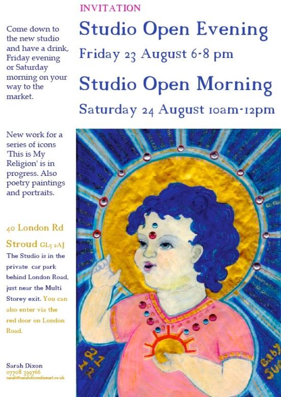 Art studio open stroud