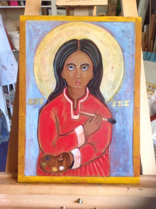 ART IST icon painting